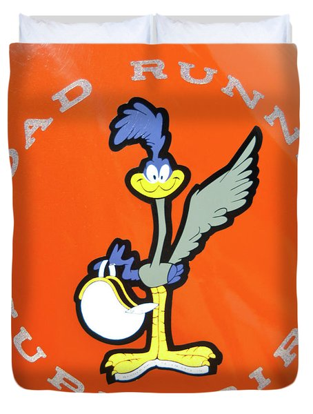 Roadrunner Duvet Cover by Guy Whiteley