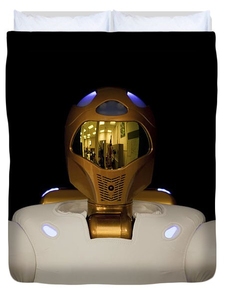 Robonaut 2, A Dexterous, Humanoid Duvet Cover by Stocktrek Images