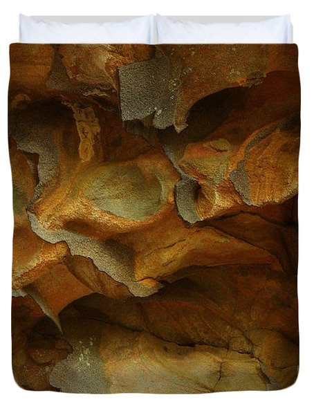 Rock Duvet Cover