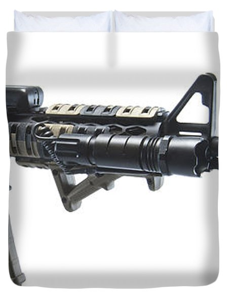 Rock River Arms Ar-15 Rifle Equipped Duvet Cover