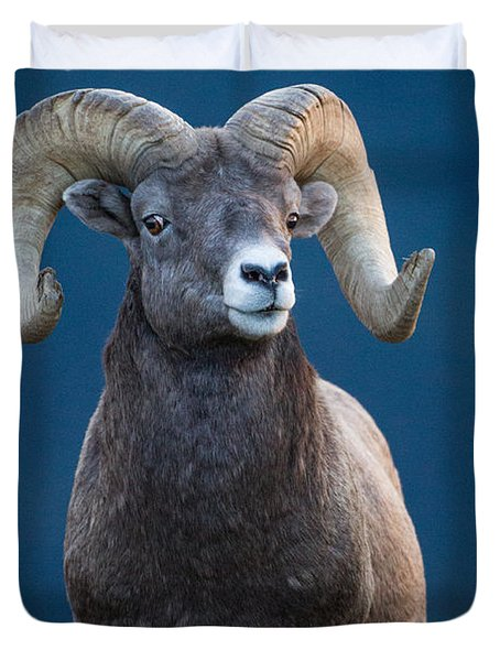 Rocky Mountain Big Horn Duvet Cover
