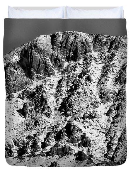 Rocky Mountain Ridges Duvet Cover