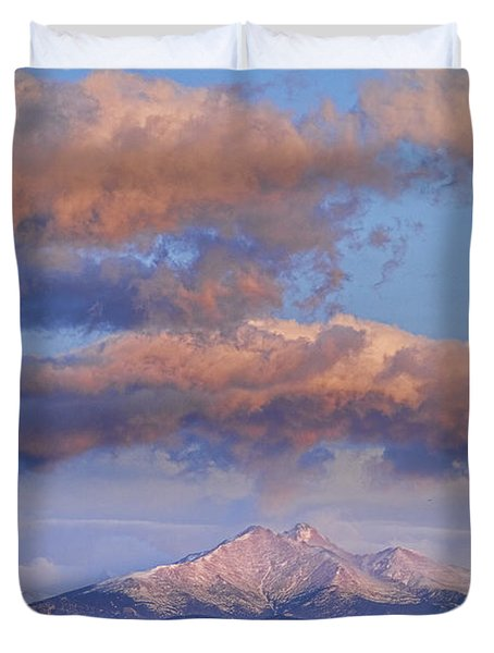 Rocky Mountain Sunrise Duvet Cover by James BO  Insogna