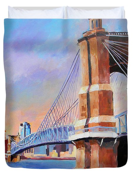 Roebling Twilight Duvet Cover