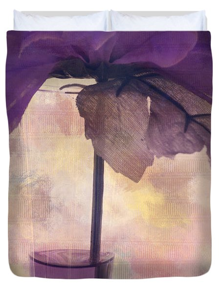 Romantisme - S0304d Duvet Cover by Variance Collections