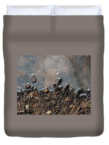 Roots In Water Duvet Cover by Kay Lovingood