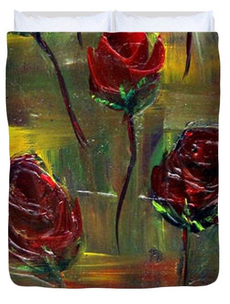 Roses Free Duvet Cover