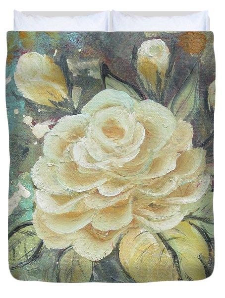 Rosey Duvet Cover