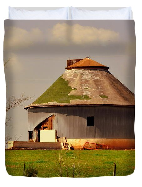 Round Barn Duvet Cover by Marty Koch