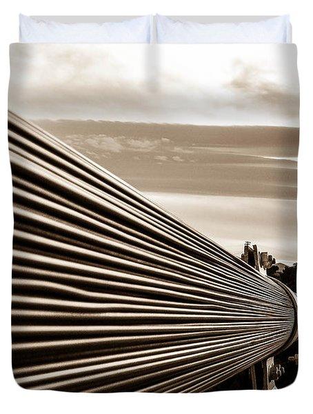 Royal Gorge Bridge Duvet Cover