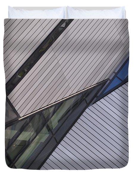 Royal Ontario Museum, Toronto, Ontario Duvet Cover by Keith Levit