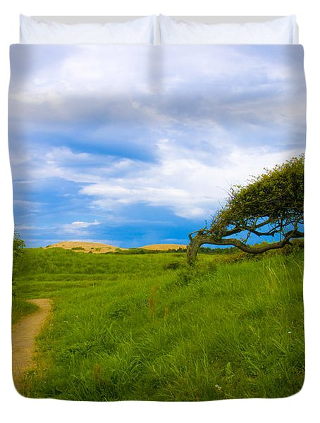 Rubjerg Path Duvet Cover by Mike Santis