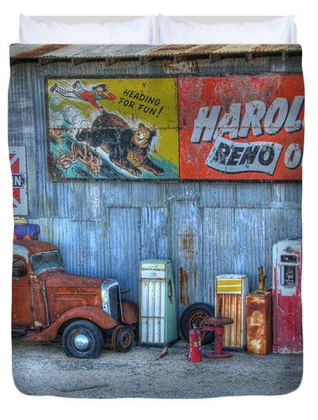 Rural America Duvet Cover by Bob Christopher
