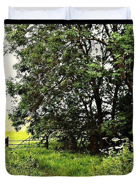 Rural Walk Duvet Cover