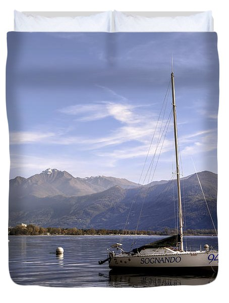 Sailing Boats Duvet Cover by Joana Kruse