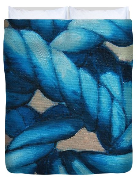 Sailor Knot 8 Duvet Cover by Ana Maria Edulescu