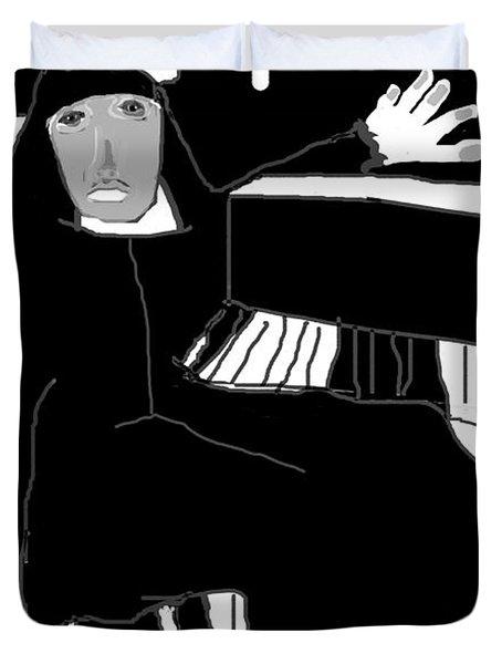 Saint Cecelia Duvet Cover