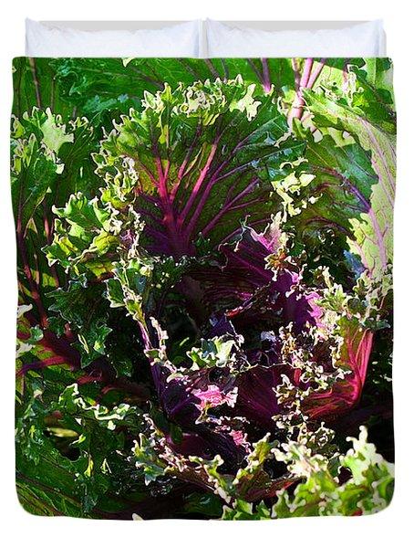 Salad Maker Duvet Cover by Susan Herber