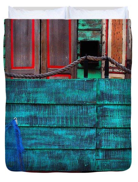 Salsa Duvet Cover by Skip Hunt