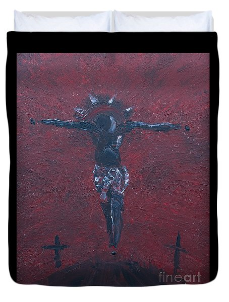 Salvation Duvet Cover