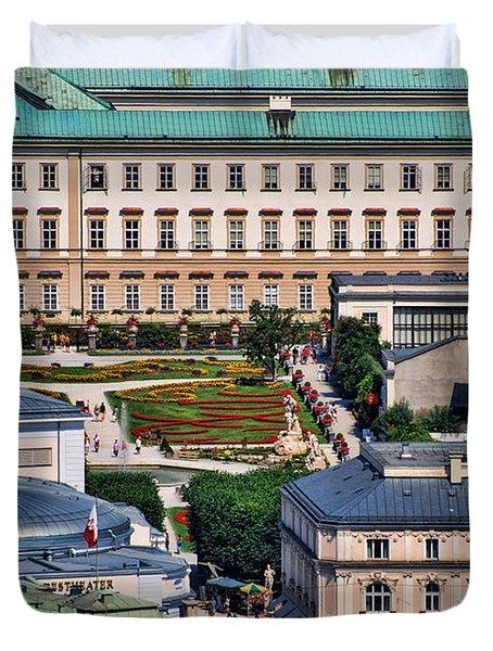 Salzburg II Austria Europe Duvet Cover by Sabine Jacobs