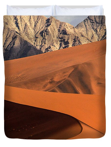 Sand And Stone Duvet Cover