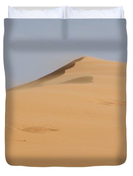 Sand Dune Duvet Cover by Heather Applegate