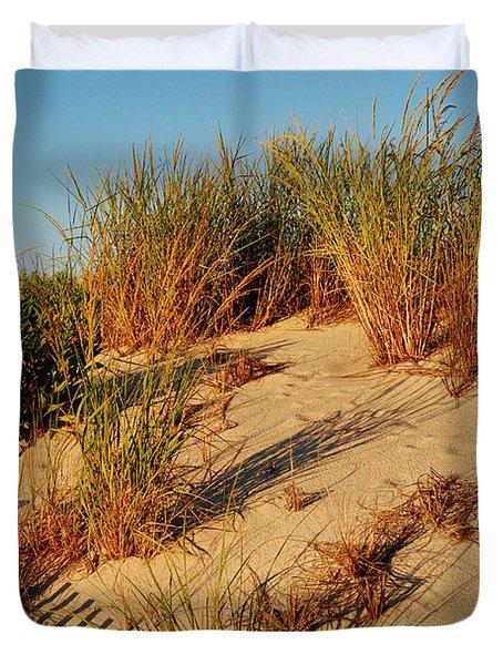 Sand Dune II - Jersey Shore Duvet Cover