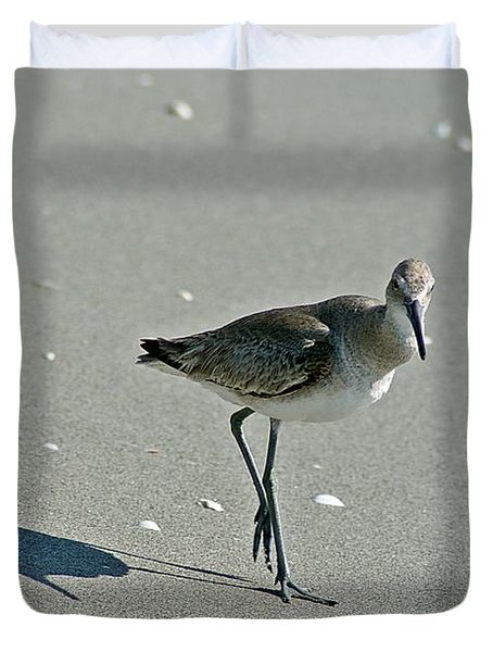 Sandpiper 3 Duvet Cover by Joe Faherty