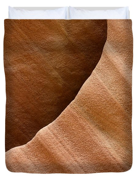 Sandstone Detail Duvet Cover by Bob Christopher