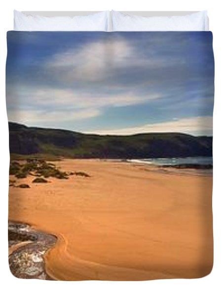 Sandwood Bay Duvet Cover