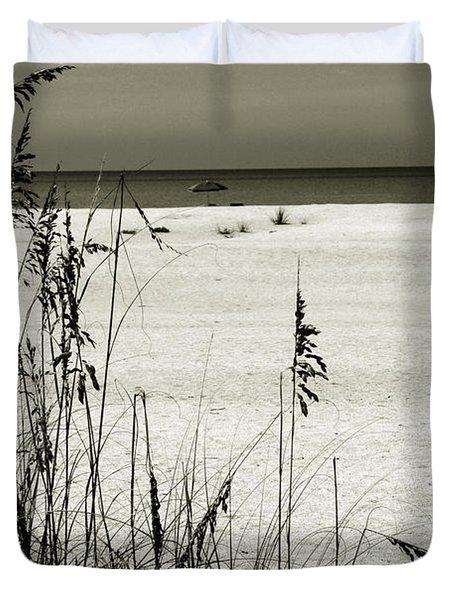 Sanibel Island Florida Duvet Cover by Susanne Van Hulst