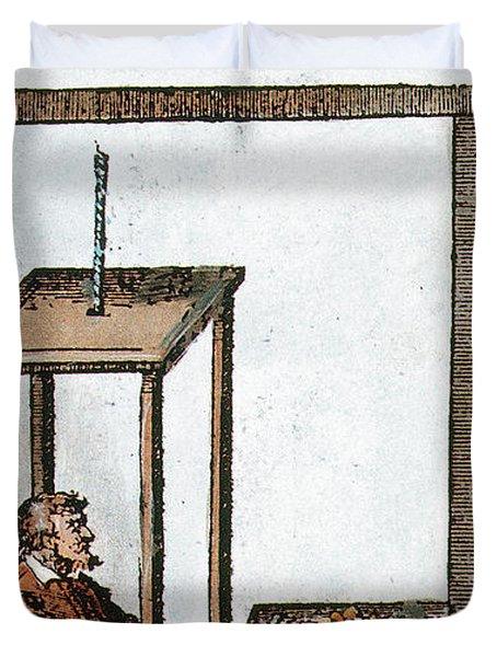 Santorio Santorio Italian Physiologist Duvet Cover