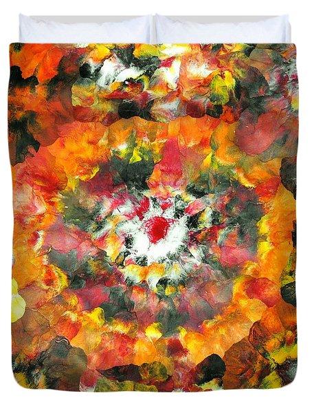 Sarv Uttrav Duvet Cover by Sumit Mehndiratta
