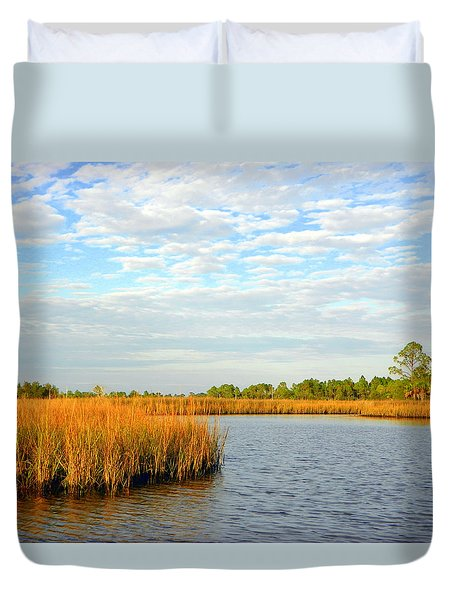 Sawgrass Creek L Duvet Cover