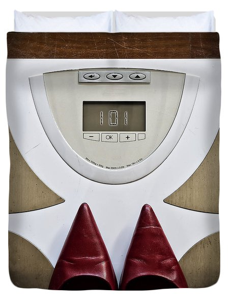 Scale Duvet Cover by Joana Kruse