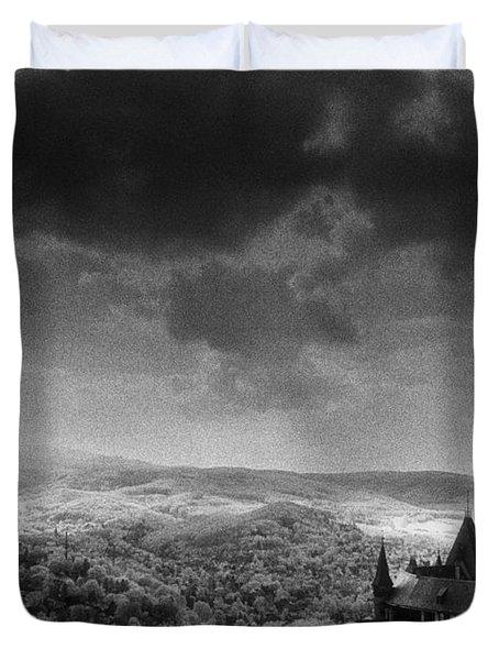 Schloss Wernigerode Duvet Cover by Simon Marsden
