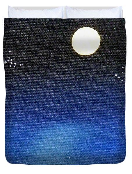 Scorpio And Aquarius Duvet Cover by Alys Caviness-Gober