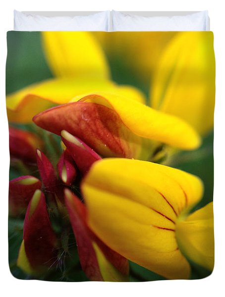 Duvet Cover featuring the photograph Scotch Broom by Chriss Pagani