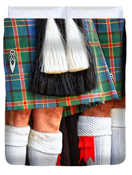 Scottish Festival 4 Duvet Cover