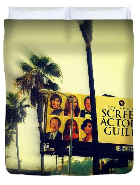 Screen Actors Guild In La Duvet Cover by Susanne Van Hulst