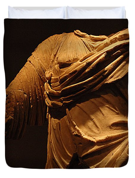 Sculpture Olympia 1 Duvet Cover by Bob Christopher