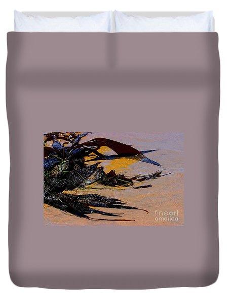 Pismo Beach Sea Drift Duvet Cover