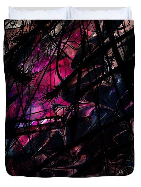 Sea Monster Duvet Cover by Rachel Christine Nowicki