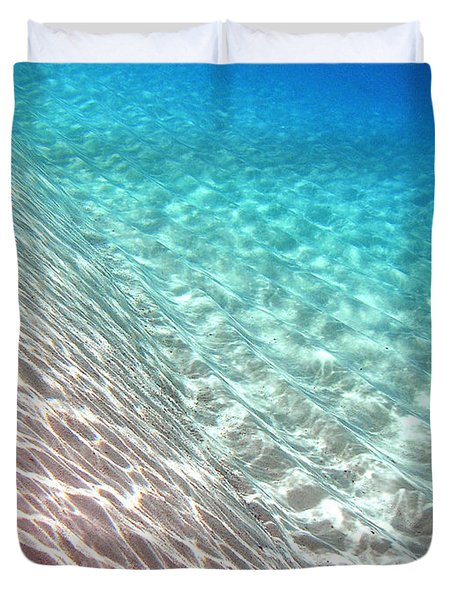 Sea Of Tranquility Duvet Cover