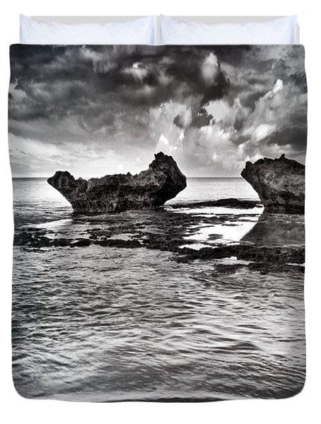 Sea Ripples Duvet Cover by Stelios Kleanthous