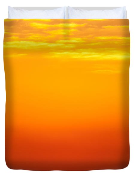 Sea Sunrise Duvet Cover
