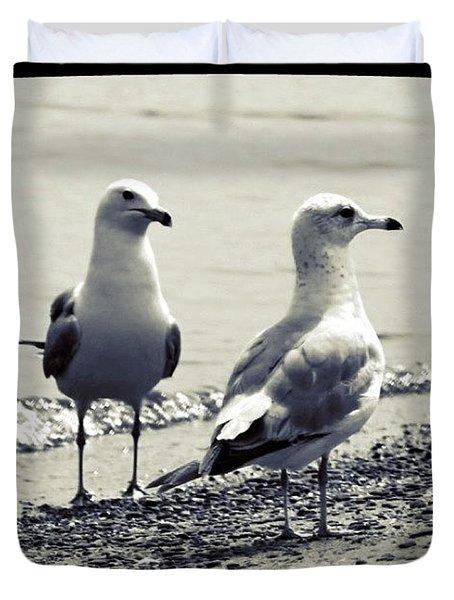 Seagull Pair Duvet Cover