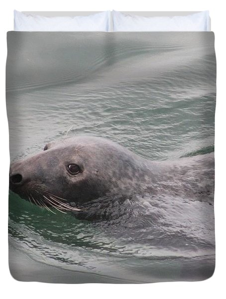 Seal  Duvet Cover
