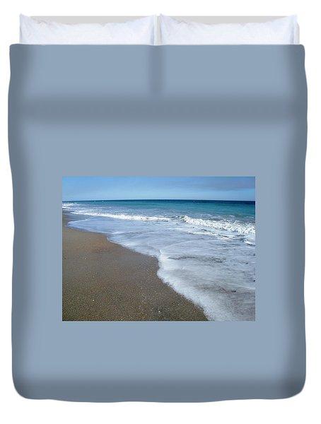 Seascape Wrightsville Beach Nc  Duvet Cover
